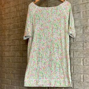LILLY PULITZER 100% cotton comfy and soft dress